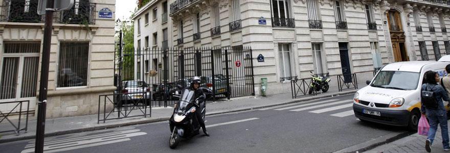 parking à centre de Paris
