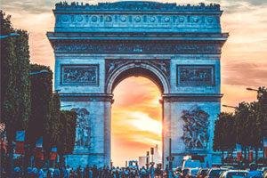 magasin de luxe à Paris