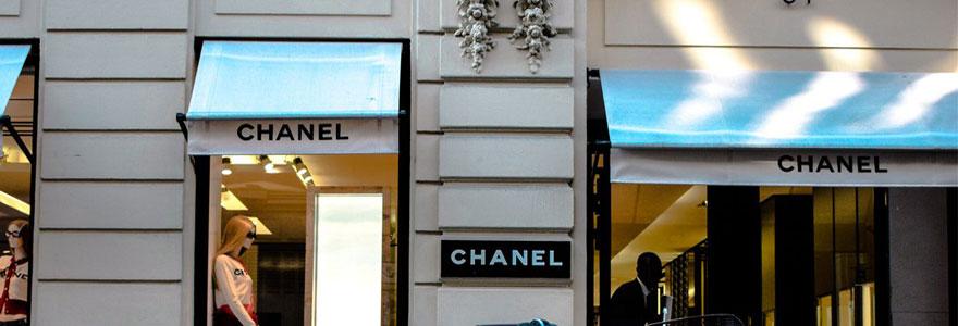 Où trouver un magasin de luxe à Paris