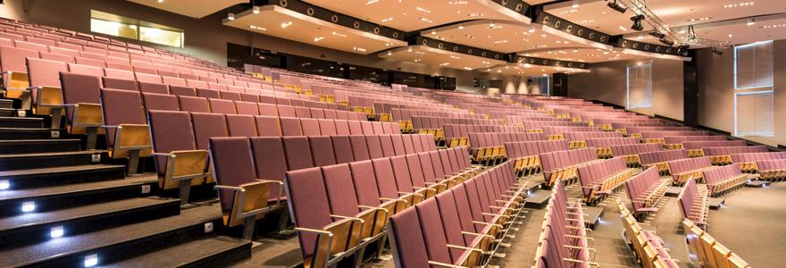 Salle de congrès sur mesure
